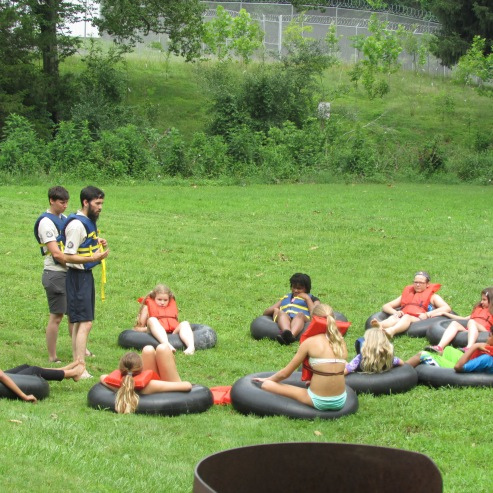 Rangers explain tubing