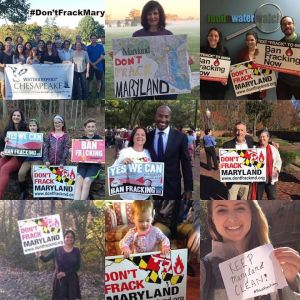 Sierra Club NOFracking collage